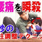 【ビデオ】腰痛を瞬殺!1秒の脊柱調整テクニック